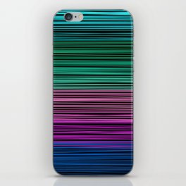 Rainbow thread , abstract pattern 1 iPhone Skin