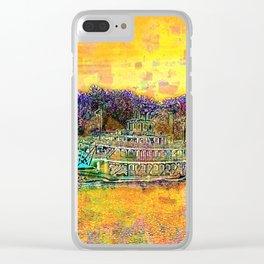 Spirit of Peoria cruising the river Clear iPhone Case