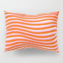 electric zebra stripes Pillow Sham