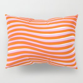 electric zebra stripes Pillow Sham