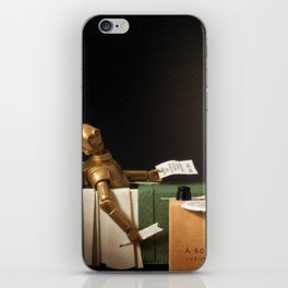 The Death of Robat iPhone Skin