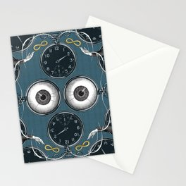 Two of Pentacles Stationery Cards
