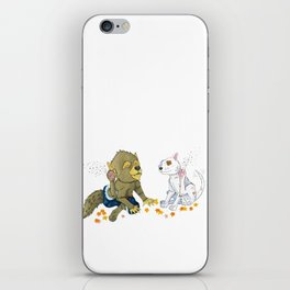 Scratch iPhone Skin