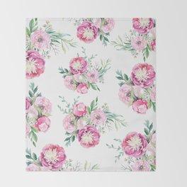 hurry spring Throw Blanket