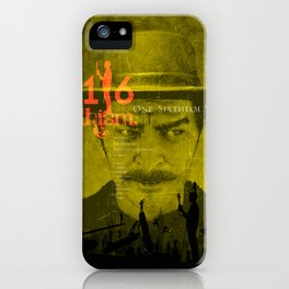 One Sixth Ism Vol.4 iPhone Case
