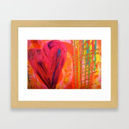 The Manipulation Of Paint #8 Framed Art Print