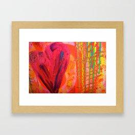 The Manipulation Of Paint #8 Framed Art Print