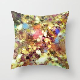 Discarded blooms Throw Pillow
