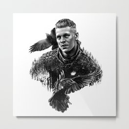 Ivar the Boneless Metal Print