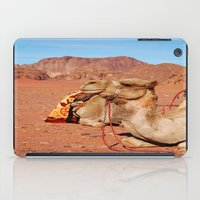 camel iPad Cases featuring camel by lularound