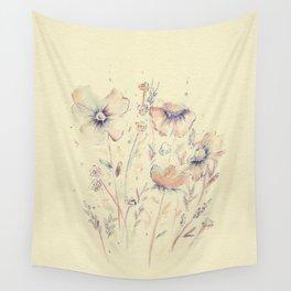 flores delgaditas Wall Tapestry