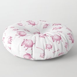 Pink Mouses Floor Pillow