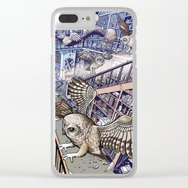 The Abandoned House Clear iPhone Case