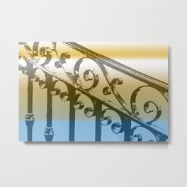 Scrolls Metal Print