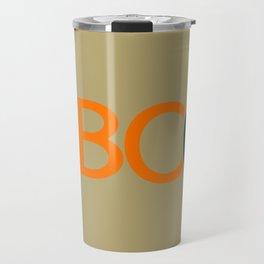 HBCU Love Typography Art No 03 Travel Mug