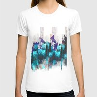 cities T-shirts featuring Cold cities by HappyMelvin