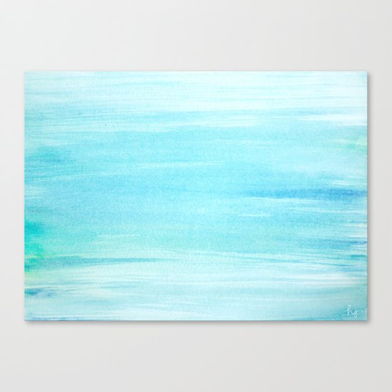 The Puddle Canvas Print