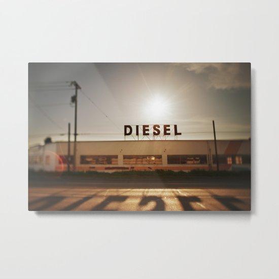 Diesel Metal Print