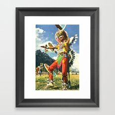 The Psychedelic Tribe Framed Art Print