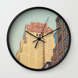 Vintage New Yorker Wall Clock