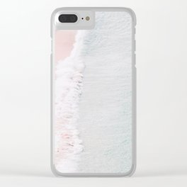 Sands of Silk Clear iPhone Case