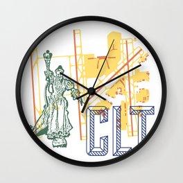 Charlotte Airport CLT Wall Clock