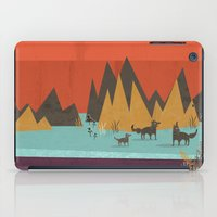 wolves iPad Cases featuring Wolves by Kakel