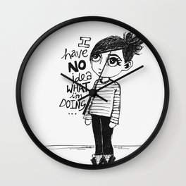I have no idea what I'm doing... Wall Clock
