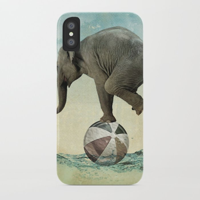 Elephant at Sea iPhone Case