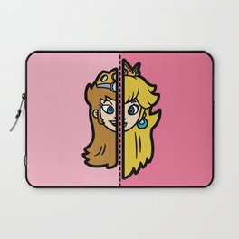 Old & New Princess Peach Laptop Sleeve