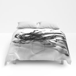 Abstract Ink 002 Comforters