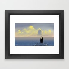 Kaonashi Framed Art Print