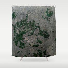 Bunker Wall Shower Curtain