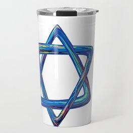 Shield of David. Star of David Travel Mug