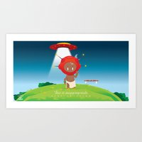 This is Inappopriate Art Print