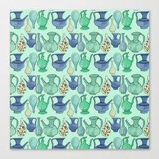 Persian Pots Canvas Print