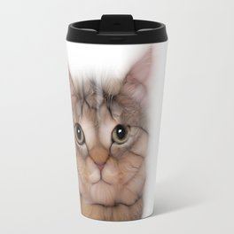 kitten cat posing for portret Travel Mug