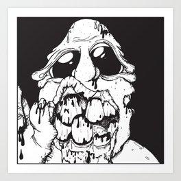 A Living Dead Guy Art Print