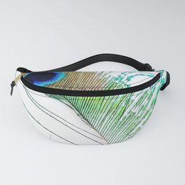 Peacock - Peacock Feather - Peacock Tail Feather Fanny Pack