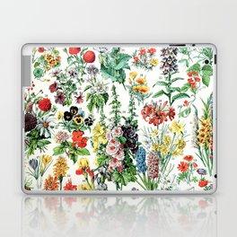 Adolphe Millot - Fleurs A - French vintage poster Laptop & iPad Skin