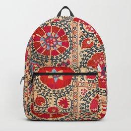 Samarkand Suzani Southwest Uzbekistan Embroidery Backpack