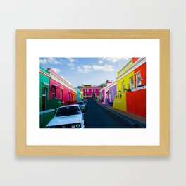 Bo Kaap Framed Art Print