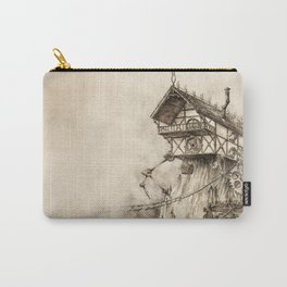 Steampunk House Carry-All Pouch