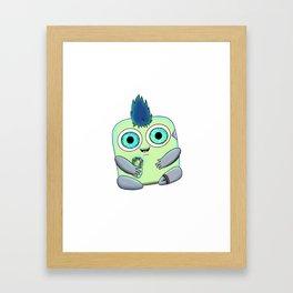 WWP Characters: Jolt the Lumi Framed Art Print