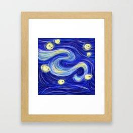 Starry Wind Framed Art Print