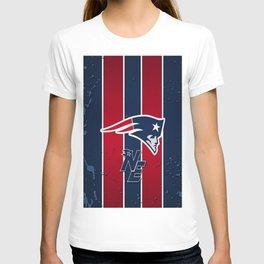 N.E Patriots Print T-shirt
