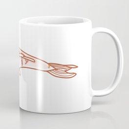 Kawaii Koi Fish Illustration Coffee Mug