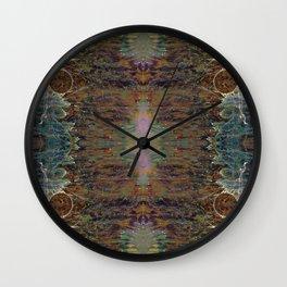Nebulous Portal Emergence (Electric Gateway) (Reflected) Wall Clock