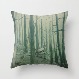 With Canvas Above, We Fall From The Sky Throw Pillow