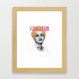 VANITY FAIR Framed Art Print